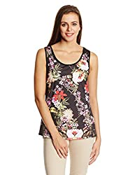 Elle Women's Body Blouse Top (EETO0288_Multi-Coloured_X-Small)