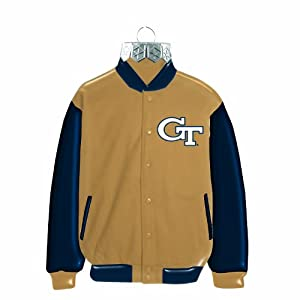 NCAA Georgia Tech Yellow Jackets Blown Glass Jacket Ornament