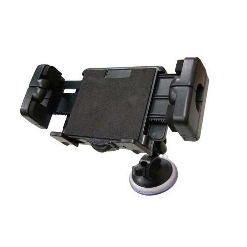 オウルテック iPhone、スマートフォン、7インチタブレット、ポータブルナビ対応3つの取り付け方法が選べる携帯ホルダー マルチホルダー3Way ブラック OCH-05