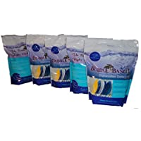 Carton of Bubble Bandit Dishwasher Detergent with Phosphate. Five 60 oz Bags (19 lbs)- Cleans Your Dishes the Way They Use to Be.  FREE SHIPPING AT CHECKOUT!