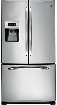 GE Profile : PFSS6PKXSS 36 25.5 cu. ft. French Door Refrigerator, Ice/Water - Stainless Steel
