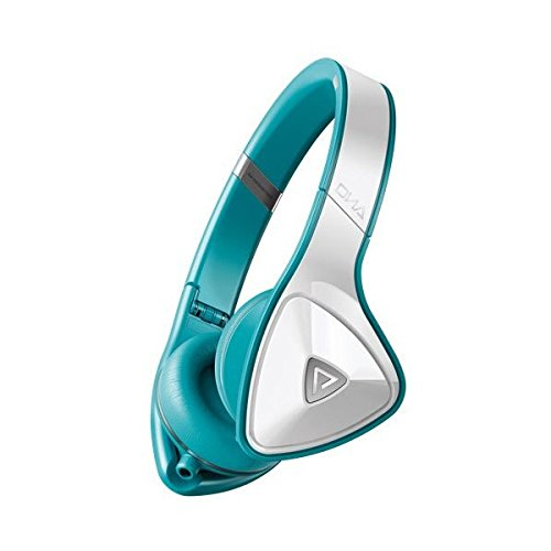 Monster Dna On-Ear Headphones (White With Teal)