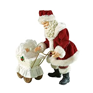Department 56 Possible Dreams Clothtique Santa Figurine, Precious Gift