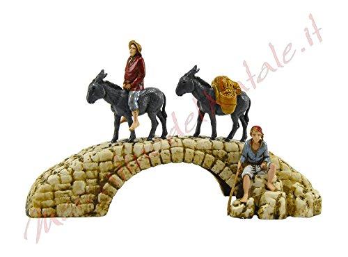 landi-classico-cm6-pastori-su-ponte-con-asini