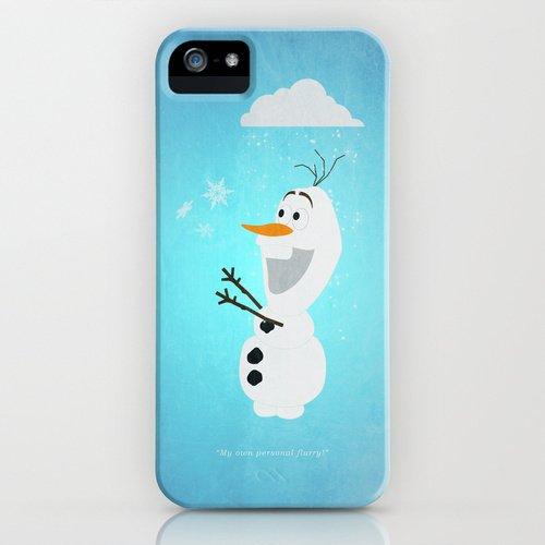 society6(ソサエティシックス) iPhone5/5sケースアナと雪の女王 オラフ 並行輸入品