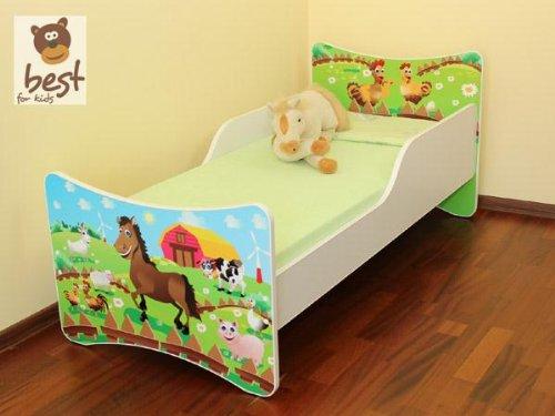 BEST FOR KIDS LIT POUR ENFANT 80x200 - FARM