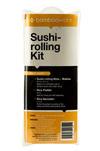 BambooWorx- Sushi Making Kit, 2 sushi