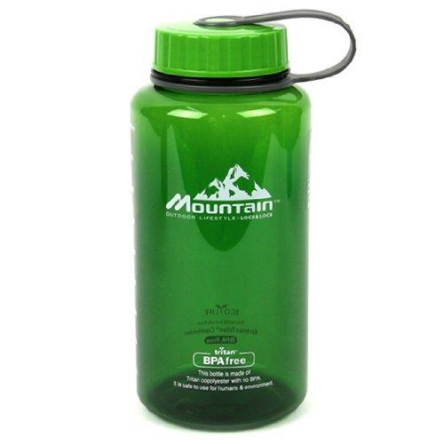 Lock&Lock 33.8-Fluid Ounce Mountain Water Bottle, Tritan, 4.1-Cup, Green (Locklock Bottle compare prices)