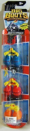 Matchbox® Big BootsTM Lauch into Action 3-Pack Figure Set - Hazard Squad - 1