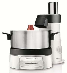 Philips HR1051/30 Jamie Oliver HomeCooker für die ganze Familie / mit Cutting Tower / 1500 Watt, weiß