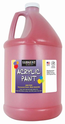 Sargent Art 22-2720 64-Ounce Acrylic Paint, Red