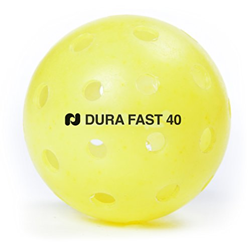 Dura PB111-0001 Outdoor Pickle Ball, Yellow (Live Pickles compare prices)