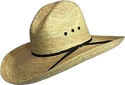 BULL-SKULL HATS, PALM LEAF COWBOY HAT, GUS 509