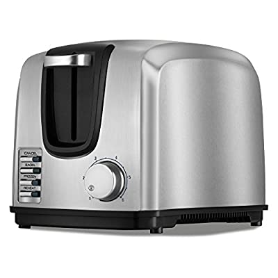 Black & Decker T2707S 2-Slice Stainless-Steel Toaster from WINQ9
