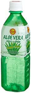 It's the SUN Aloe Vera Juice, Sugar Free, 16.9-Ounce Bottles (Pack of 20)
