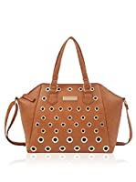 Carla Belotti Handbag Handbag Light Brown Cassy (Marrón Claro)