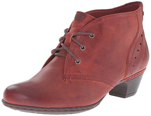 Cobb Hill by New Balance Women's Aria Boot, Dark Red, 6 M US