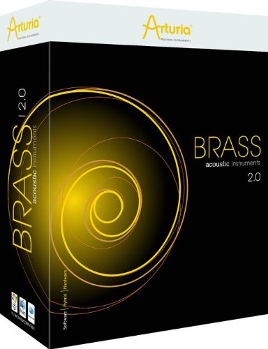 Arturia Brass 2.0 Virtual Instrument Software (Standard)
