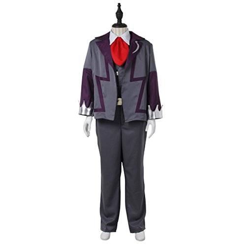 CosplayDiy Men's Costume Suit for Pokemon Steven Stone Cosplay CM