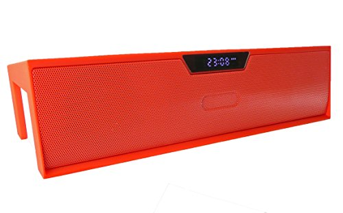Emartbuy ® Rot SoundBox PortableWirelessBluetoothLautsprecherMitMikrofonGeeignet Für Mediacom SmartPad 10.1 HD iPro111 / Mediacom SmartPad i10 3G Tablet