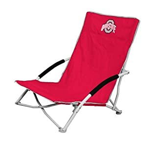 NCAA Ohio State Buckeyes Beach Comber Chair by Logo Chair Inc.