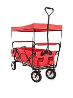 Ultrasport Carrito plegable con funda para el transporte y cubierta