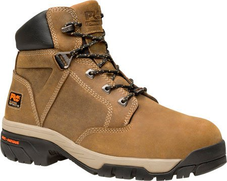 Timberland PRO Men's Helix 6 Inch Titan Safety Toe Work Boot,Brown,10.5 M US (Timberland 6 D M compare prices)