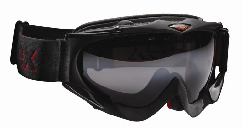 Skibrille Uvex Apache Pola HD Top-Skibrille mit Kontrastverst&#228;rkung, Farbe:black metallic mat;Gr&#246;&#223;e:one size