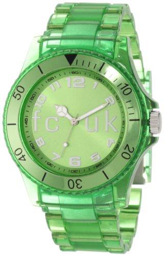 FCUK FC1075NN Green Plastic Bracelet Watch