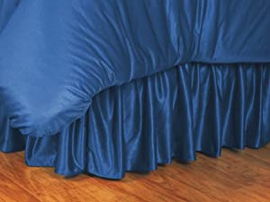 NFL Bed Skirt Size: Full, NFL Team: New York Giants by Sports Coverage