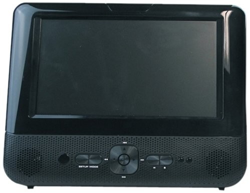 Impecca Dvpds720 7-Inch Dual Screen Portable Dvd Player With Usb Port And Sd Card Reader