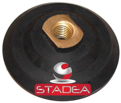 Buy Bargain 6 inch hook and loop backing pad – Rubber Backing Pad Velcro Backing Pad Arbor 5/8″ 11 by STADEA