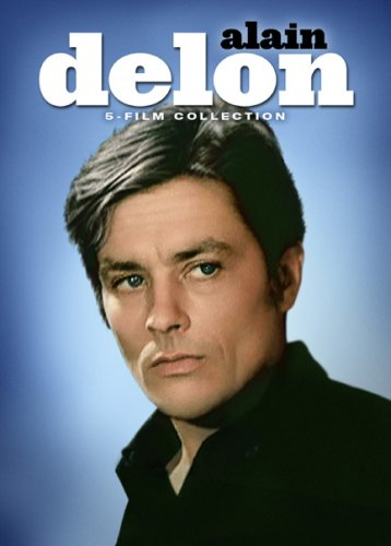 Cover art for  Alain Delon - Five Film Collection (The Widow Couderc / Diabolically Yours / La Piscine / Le Gitan / Notre Histoire)