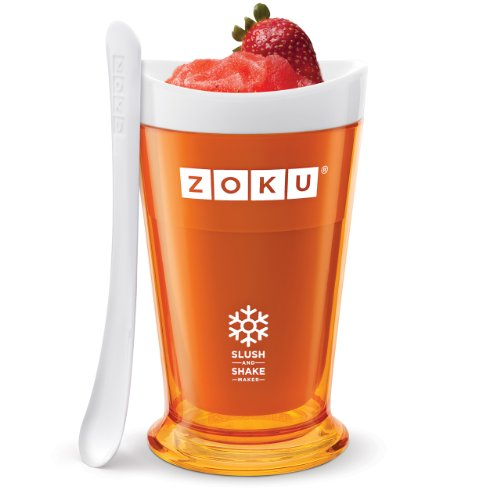 Zoku Slush and Shake Maker, Orange (Iced Coffee Zoku compare prices)
