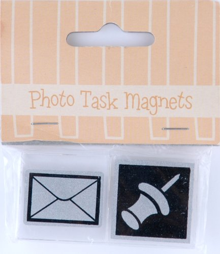 Pinnacle 06FA367W 2-Pack of 1x1 Task Magnets