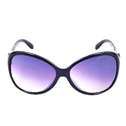 Riyan Cateye Sunglasses (Black) (Riyan-35)