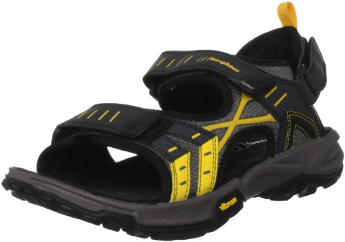 Berghaus Men's Bueno Strap Jet Black/Spectra Yellow Sandal 4-20506H46 6 UK