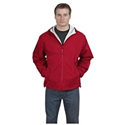 Port Authority - Team Jacket, 3XL, Red and Light Oxford