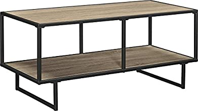 Ameriwood Industries Altra Emmett Collection TV Stand/Coffee Table, Metal Frame, Gunmetal Gray