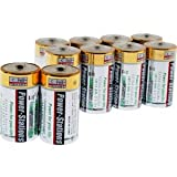 Power-Stations C Cell (LR14 / MN1400) High Power Alkaline Batteries - 10 Pack!