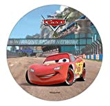 DISNEY PIXAR CARS CAKE TOPPER 21 CM EDIBLE WAFER / RICE II. PAPER CUP CAKE DECORATION TOPPERS BIRTHDAY PARTY KIDS WEDDING