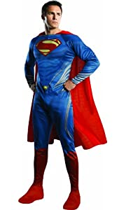 Rubie's Costume Man Of Steel Adult Complete Superman, Blue/Red, Medium