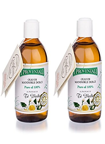 i-provenzaliset-of-two-olio-di-mandorle-dolci-100-pure-almond-oil-green-tea-scent-676-fluid-ounce-20