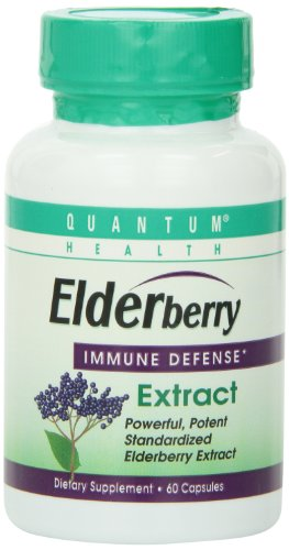 Quantum Elderberry Capsule, 60-Count