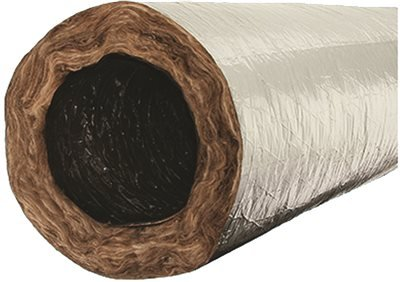QUIETFLEX 480 FLEX DUCT 4 IN. DIAMETER, R 6 INSULATION VALUE, 25 FT. LENGTH (1/EA) (1 4 Inch Pipe Insulation compare prices)