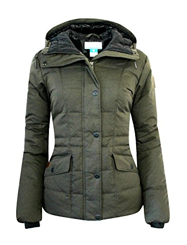 Columbia Women's Werner Peak Down Hooded Insulated Jacket Parka (XS, Washed Green) (Womens Columbia Peak Jacket compare prices)
