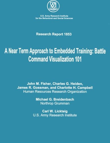 A Near Term Approach to Embedded Training: Battle Command Visualization 101