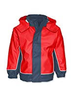 Playshoes Chaqueta Impermeable 3-in-1 (Rojo)