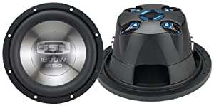 "SSL E15D E Series 15"" Dual 4 Ohm Voice Coil Subwoofer, 1800 Watts"