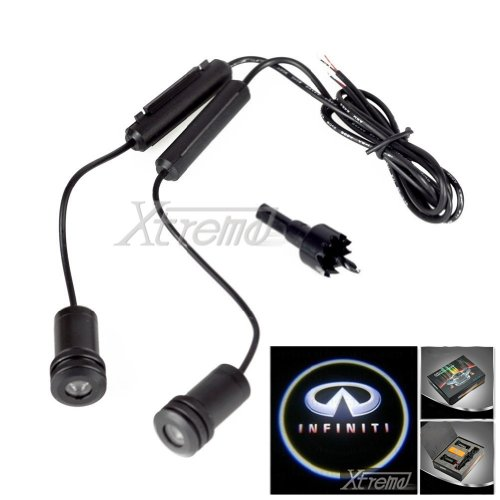 Xtreme® 5W 4Th Generation 2X Led Car Door Laser Projector Ghost Shadow Step Light Logo For Infiniti